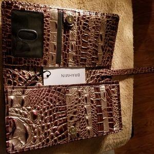 Brahmin port annmarie wallet clutch nwt